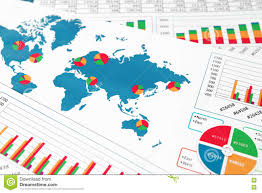 World Map 1500 by World Map With Charts Graphs And Diagrams Stock Photo Image