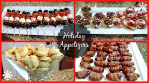holiday party appetizers dcmenu com