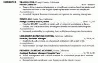 capricious example of professional resume 11 examples good resumes