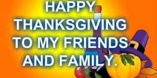 happy thanksgiving family and friend thanksgiving blessings