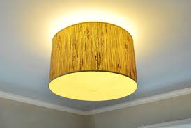 Yellow Ceiling Lights A Ceiling Light With A Diffuser From A L Shade