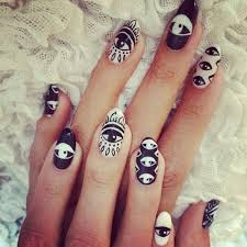 76 best eyes on nails images on pinterest make up evil eye