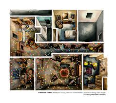the homes from u0027stranger things u0027 rendered in beautiful plans and