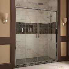 dreamline visions 60 x 72 sliding frameless shower door