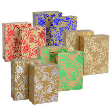 gift boxes bulk voila embossed rectangular gift boxes with ribbons at