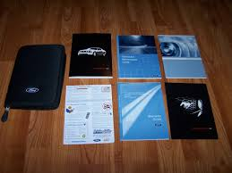 2007 ford mustang owners manual ford amazon com books