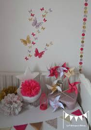 d orer la chambre de b décoration chambre bébé fille enfant liberty héloise fuchsia