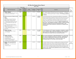 project monthly status report template 6 monthly status report template project management progress report