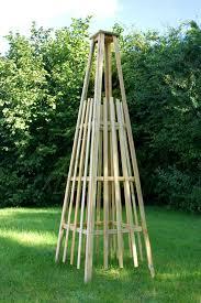 garden obelisk lowes home outdoor decoration