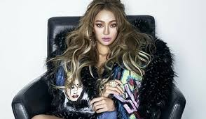 hyorin put on long hair hyolyn profile updated