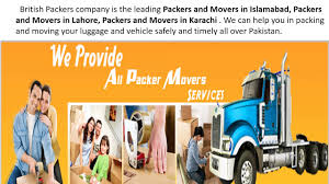 Packing And Moving by Top Ten Packers And Movers In Pakistan Youtube