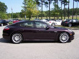 porsche metallic 2011 porsche panamera in amethyst metallic with cognac and cedar