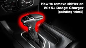 how to remove shifter on 2015 dodge charger ft jake paul youtube