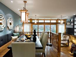 living and dining room renovation divine design hgtv elegant