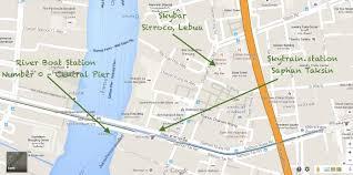 Bangkok Map Where To Go At Night In Bangkok