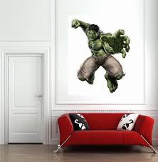 popular marvel hero decoration hulk sticker poster for bedroom