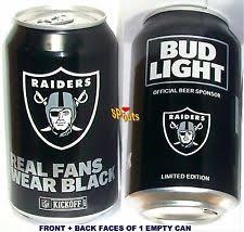 where to buy bud light nfl cans 2017 bud light raiders ebay