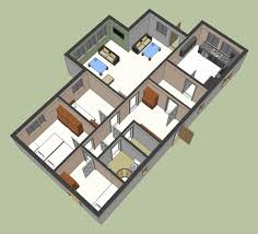 sketchup for floor plans sketchup house plans best of sketchup 3d floor plan floor