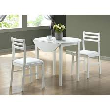Glass Drop Leaf Table 36 Dining Table Round U2013 Zagons Co