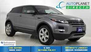 land rover lr2 2012 used 2012 land rover range rover evoque for sale brampton on