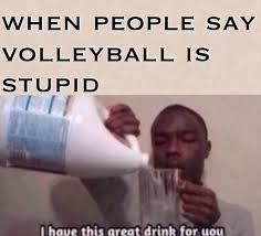 Volleyball Meme - haha volleyball humor fit o matic