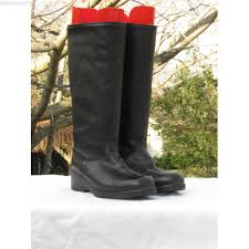 martino of canada s boots martino leather winter boots size 8 slipon boots black