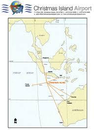 Christmas Map Christmas Island Airport Xch Aviation U0026 Tourist Information