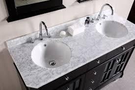 Granite Double Vanity Top Breathtaking Double Sink Vanity Top With Polished Chrome Bathroom