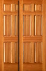 New Closet Doors Sliding Closet Doors Wood New Bypass Door Pocket With Regard To 1