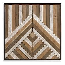abstract wood arrow wall bed bath beyond