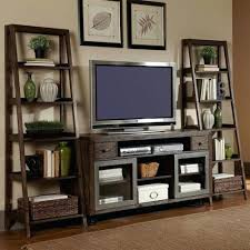 Best 25 Ladder Shelves Ideas by Bookcase Tv Stand With Matching Bookcases Tv Cabinet With