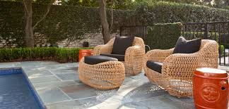 Contemporary Outdoor Furniture Not Grandmas Wicker Bombay Outdoors - Designer outdoor tables