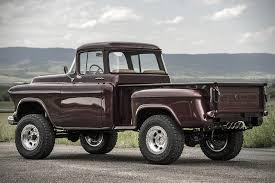 chevy truck with corvette engine 1957 chevy napco truck has been restored with a corvette engine