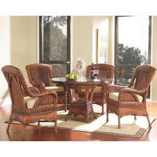 wicker dining room chairs interior design