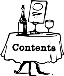 Meme Table - make meme with table of contents clipart