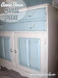 dated hutch transformed into coastal shabby treasure annie sloan chalk paint blue hutch