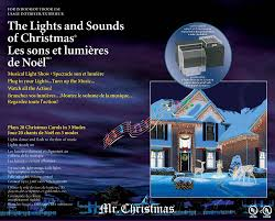 amazon com mr christmas lights and sounds of christmas outdoor