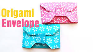 how to make a paper envelope make origami envelope in 5 minutes