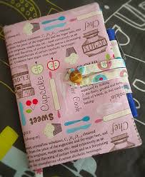 Journal Decorating Ideas by How To Make A Fabric Journal Notebook Cover With Pen Holder