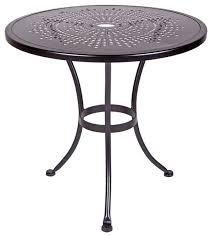 round bistro table outdoor outside bistro table bonners furniture