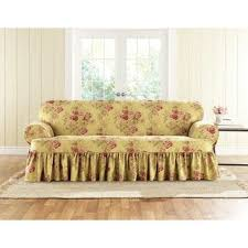 Slipcovers For Three Cushion Sofa T Cushion Sofa U0026 Couch Slipcovers Shop The Best Deals For Nov
