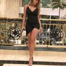 final sale black stuck on you dress