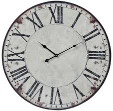 amazon com sterling 118 040 roman numeral printed wall clock