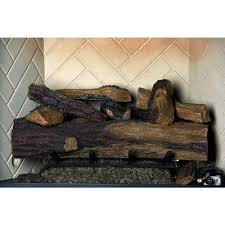 Converting A Wood Fireplace To Gas by Fireplace Logs Fireplaces The Home Depot