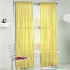 Yellow Sheer Curtains Yellow Sheers Curtains Drapes Window Treatments Home Decor