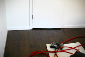 Laminate Flooring Baseboard Diy Baseboard Installation 4 Things I U0027ve Learned Create Enjoy