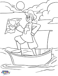 columbus day u2013 coloring pages u2013 original coloring pages