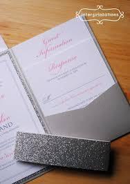 glitter wedding invitations glitter wedding invitation sets 15 best vow renewal images on