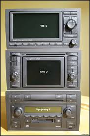 rns e audi b6 a4 s4 symphony ii to rns e oem dvd based navigation