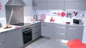 cuisine gris laqué table pour cuisine actroite cuisine amacnagace pas cher